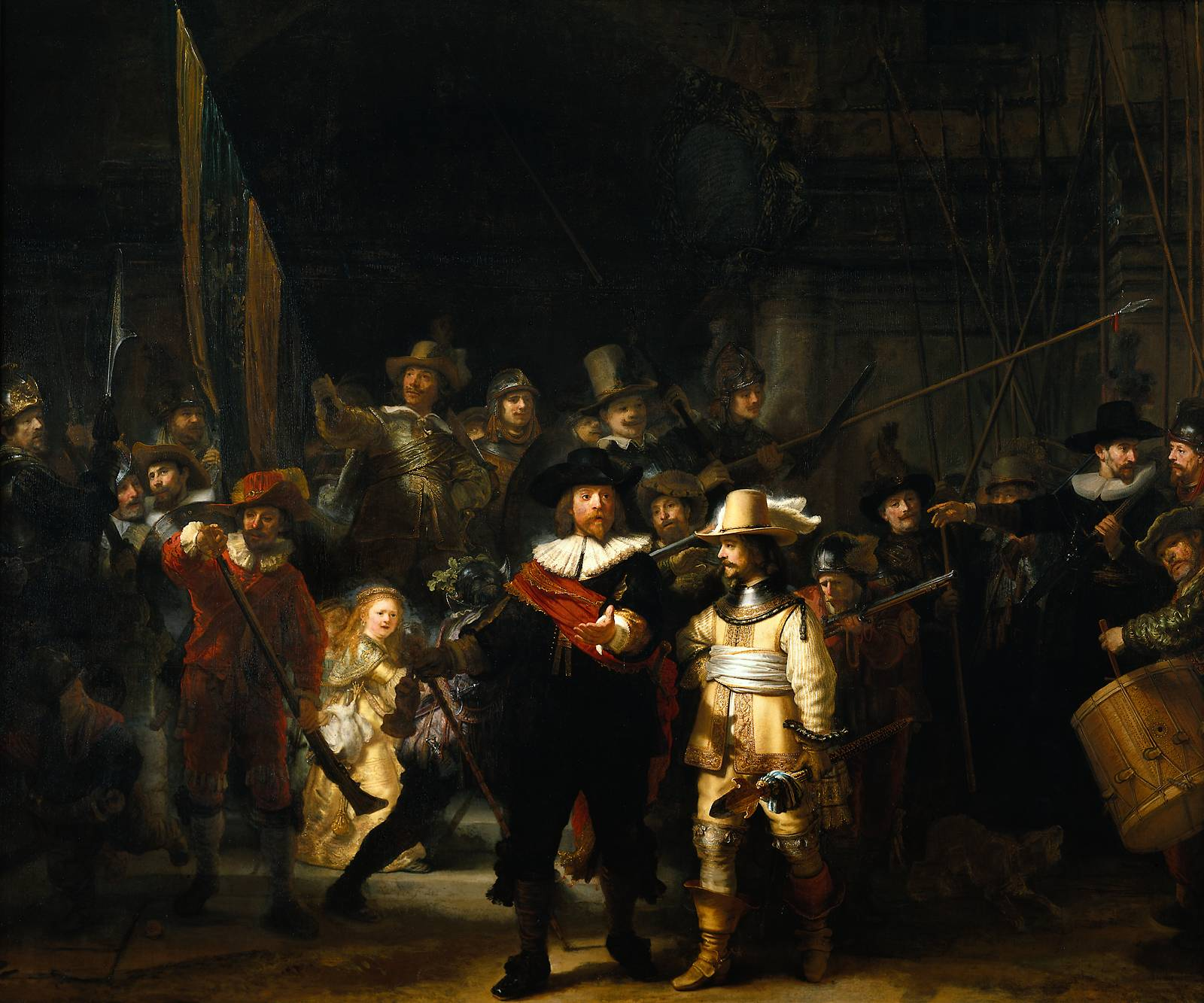 Rembrandt The Night Watch 1642 & W.T.G.A.: Picasso Vs Rembrandt | holditnow Pezcame.Com