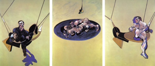 Bacon Triptych (Flying Figures) 1970