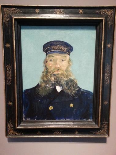 Vincent Van Gogh Portrait of Postman Roulin 1888 estimated 80-120 million
